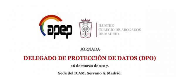 """DPO&IT Law participará en la Jornada """"Delegado de Protección de Datos (DPO)"""" de APEP"""